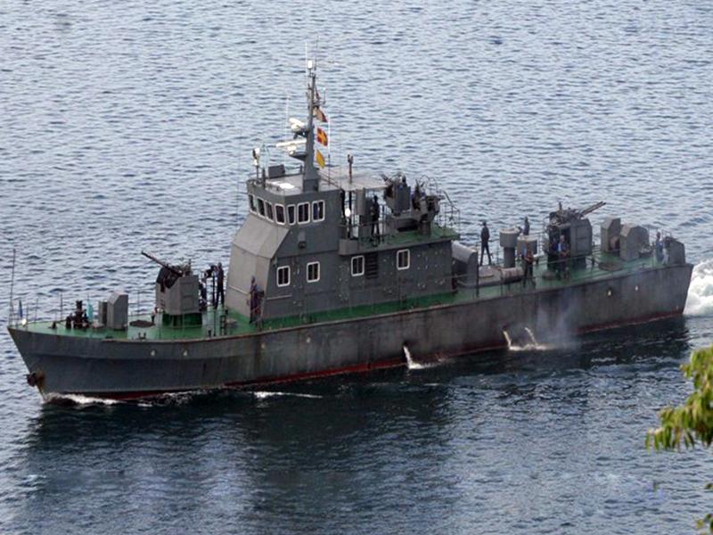 fast gun boat